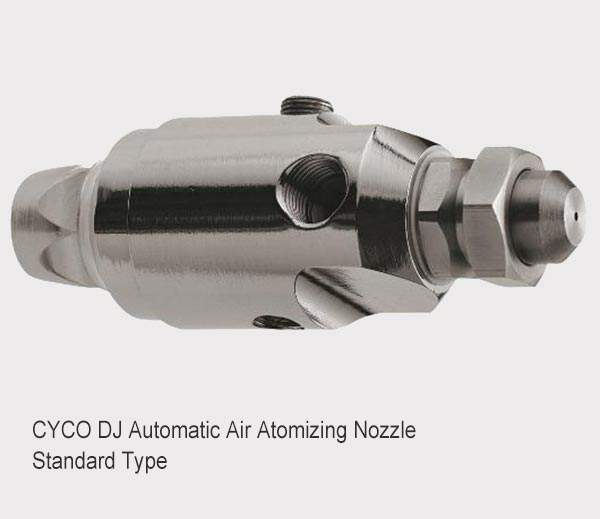 DJ automatisk luftdempende dyse 3